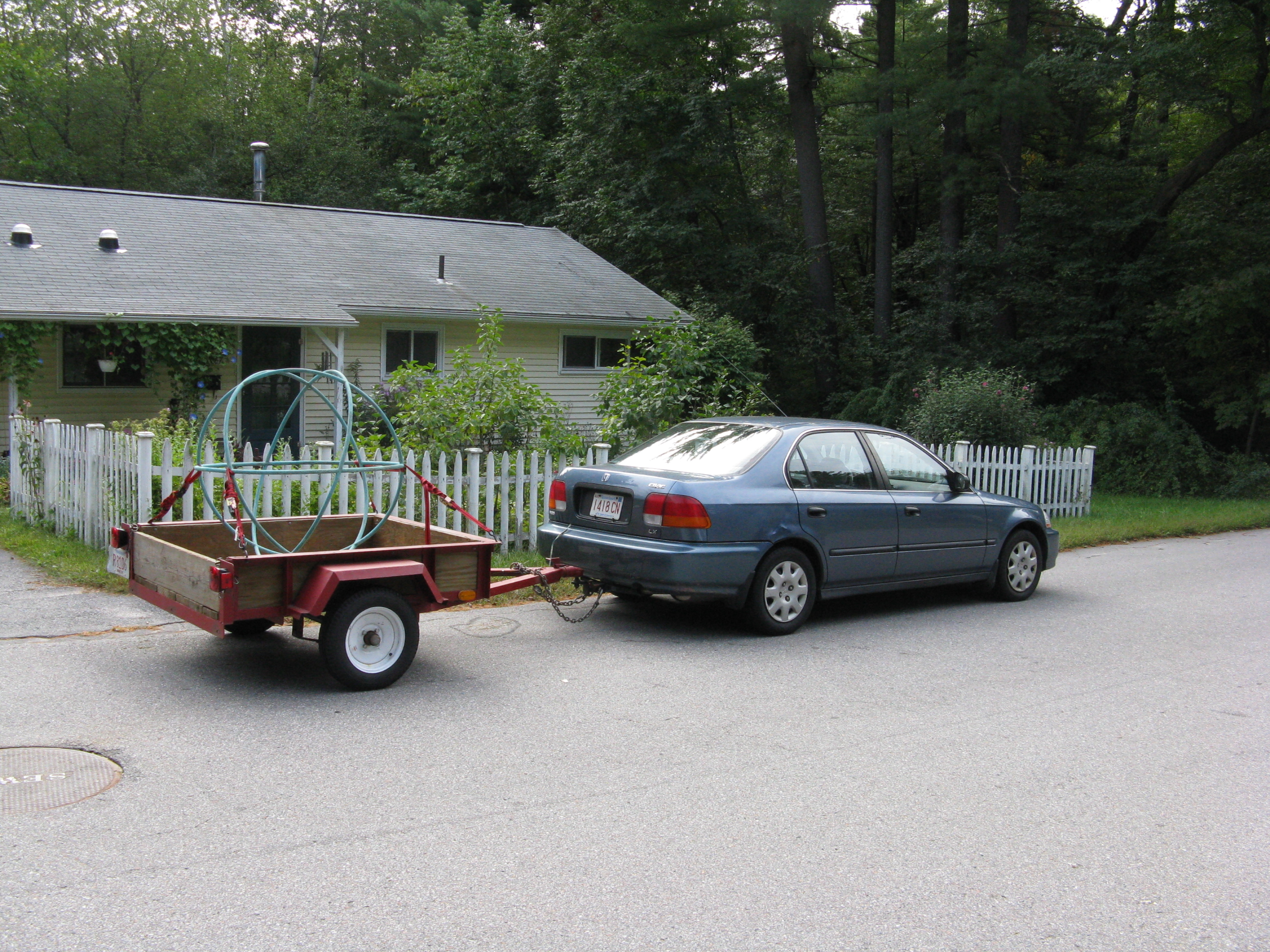 Heavy Duty Car Trailer Huckins Forge