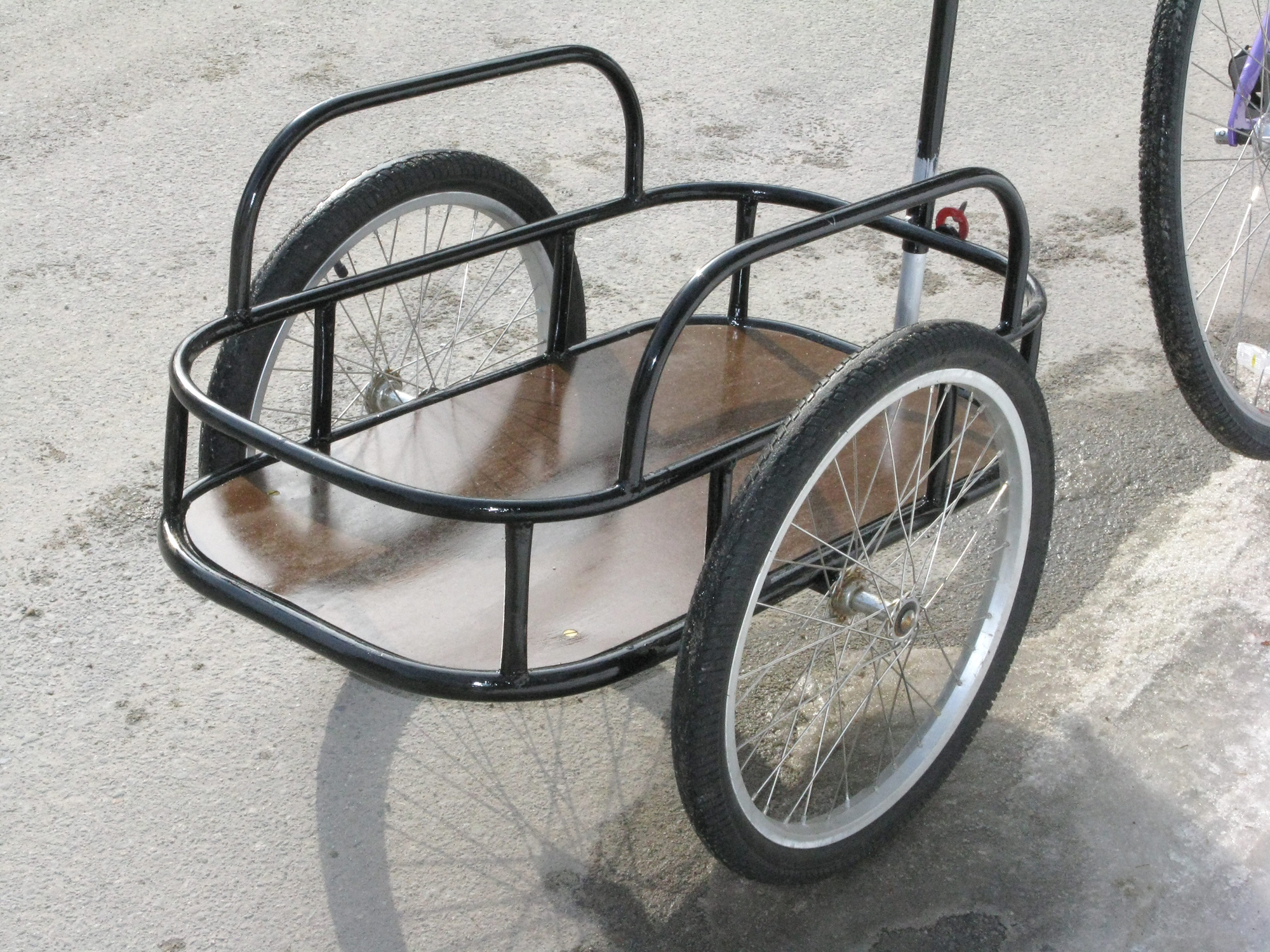 how to make a billy cart with bike wheels