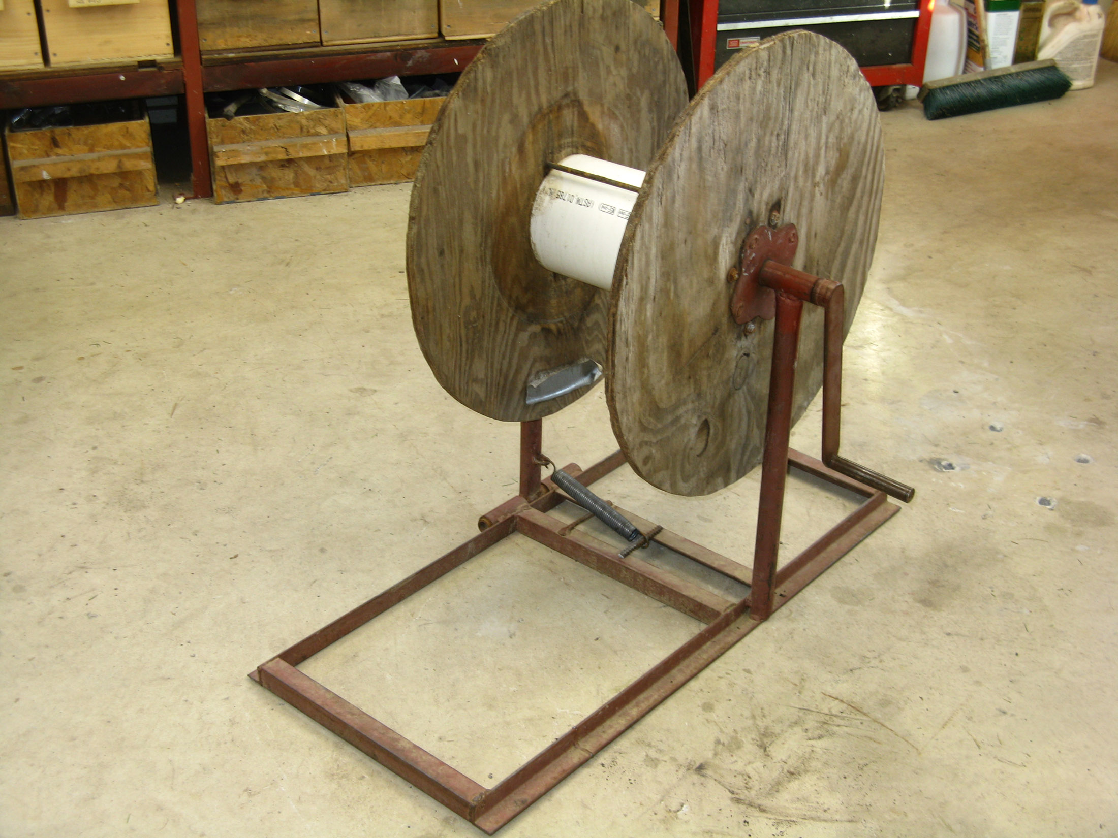 Drip Tape Spools And Winder Huckins Forge